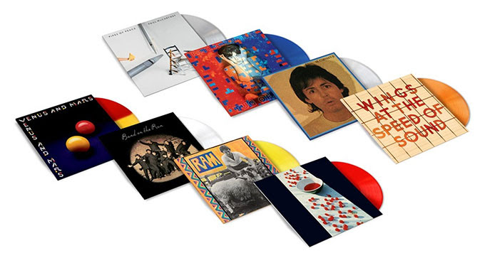 Paul Mccartney Limited Edition Coloured Vinyl Beatles