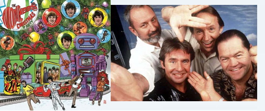 Monkees Christmas Party.New Monkees Christmas Album To Include Paul Mccartney Cover
