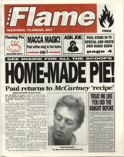 "COMING SOON : ""FLAMING PIE"" DELUXE EDITION – Beatles Magazine"