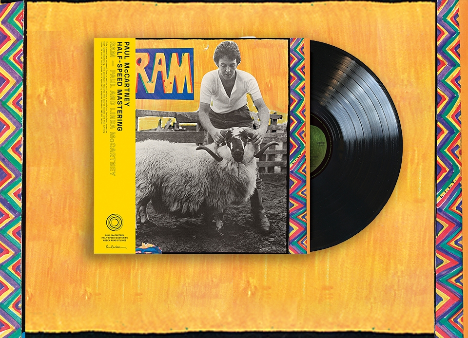 50th ANNIVERSARY HALF-SPEED MASTERING RELEASE OF 'RAM' RELEASED 14th MAY –  Beatles Magazine